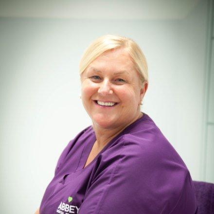 Dental nurse Patricia Rowe